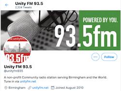 Unity FM Logo